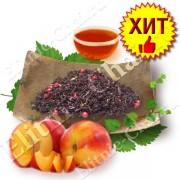 Черный чай с бергамотом «Розовый Бегемот»