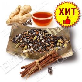 «Согревающий» черный чай со специями (масала)