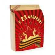 Подарочный набор на 23 февраля «Комплимент мужской» (вес подарка 150 грамм)