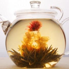Связанный чай «Магия огненного цветка с кокосом»
