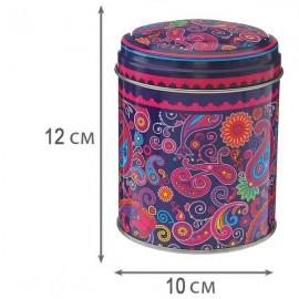 Металлическая баночка для хранения чая
