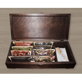 Корпоративный подарок «Подарочный ларец с чаем ELITE TEABOX PREMIUM»