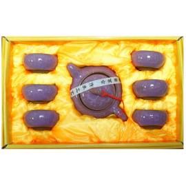 Набор для чаепития (7 предметов, цвет фиолетовый)