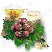 Связанный чай Хуа Ли Чжи «Жасминовый рай»